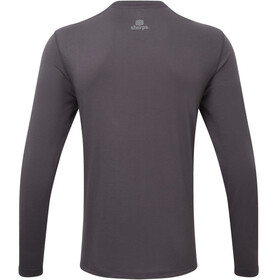 Sherpa Nima - T-shirt manches longues Homme - gris